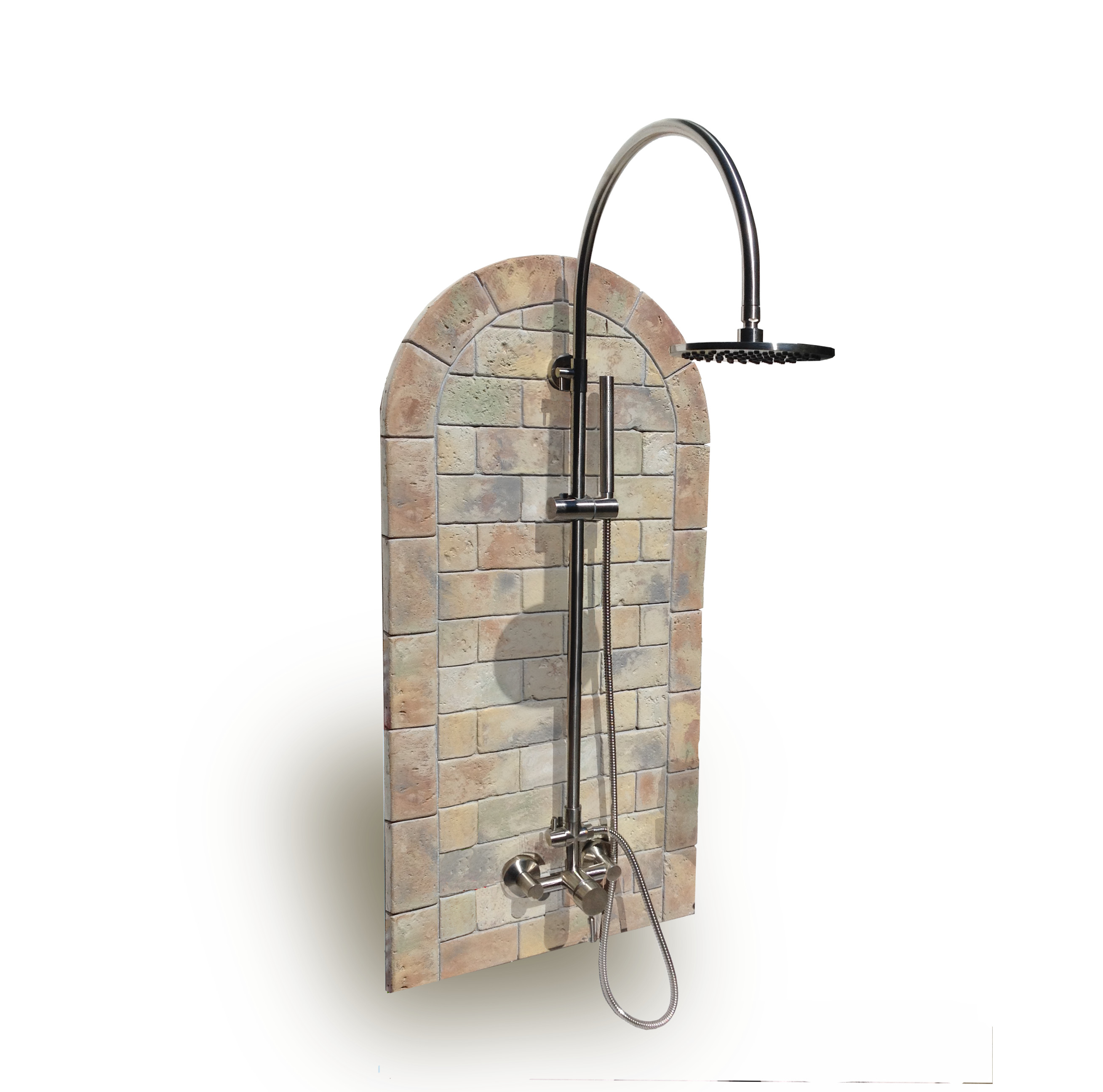 Oceanic Theme Outdoor Shower Kit Sunrinse Outdoor Showers