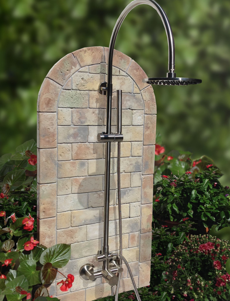 oceanic theme outdoor shower kit