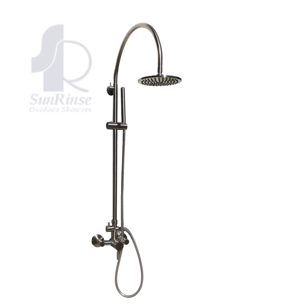 Outdoor Shower Fixture and Accessories – SunRinse Outdoor Showers