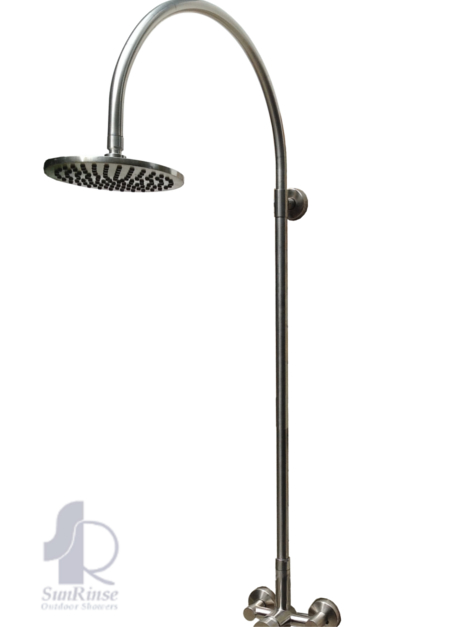 Stainless Steel Shower Fixture Basic Faucet Model SR200 – SunRinse ...